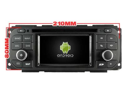 AUTORADIO GPS BLUETOOTH ANDROÏD JEEP Wrangler, Liberty, Grand Cherokee + CAMERA DE RECUL