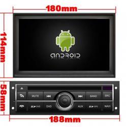 AUTORADIO ANDROÏD GPS BLUETOOTH MITSUBISHI L200, Pajero, Montero, Nativa et Triton + CAMERA DE RECUL