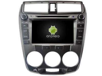 AUTORADIO ANDROÏD GPS BLUETOOTH HONDA CITY 2008 -2012 + CAMERA DE RECUL