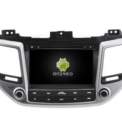AUTORADIO ANDROÏD GPS BLUETOOTH HYUNDAI ix35 et TUCSON depuis 2015 + CAMERA DE RECUL