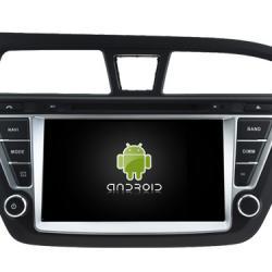 AUTORADIO ANDROÏD GPS BLUETOOTH HYUNDAI i20 depuis 2015 + CAMERA DE RECUL