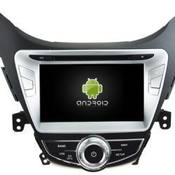 AUTORADIO ANDROÏD GPS BLUETOOTH HYUNDAI NEW ELANTRA AVANTE i35 2010-2013 + CAMERA DE RECUL