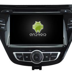 AUTORADIO ANDROÏD GPS BLUETOOTH HYUNDAI ELANTRA AVANTE 2014-2015 + CAMERA DE RECUL