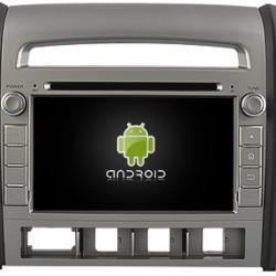 AUTORADIO ANDROÏD GPS BLUETOOTH HYUNDAI SANTA FE 2006-2008 + CAMERA DE RECUL