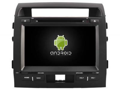 AUTORADIO ANDROÏD GPS BLUETOOTH TOYOTA LAND CRUISER 200  2007-2013 + CAMERA DE RECUL