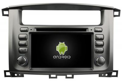 AUTORADIO ANDROÏD GPS BLUETOOTH TOYOTA LAND CRUISER 100 + CAMERA DE RECUL
