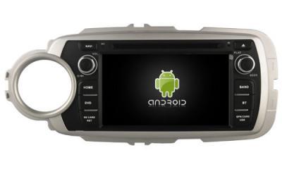 AUTORADIO ANDROÏD GPS BLUETOOTH TOYOTA YARIS 2012-2017 + CAMERA DE RECUL