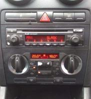 8p0858005d console cage d origine audi a3 8p 2