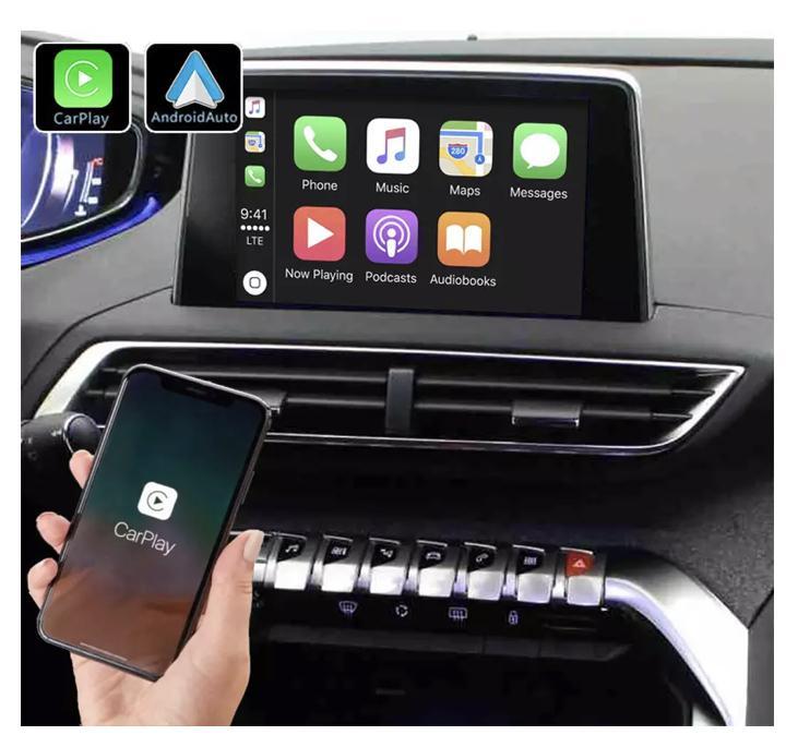 Android auto audi a3 peugeot 3008 5008 renault megane4 mercedes peugeot opel toyota camera de recul commande au volant ipod tv dvbt 3g 4g pas cher wifi poste usb sd tnt 2 din tacti