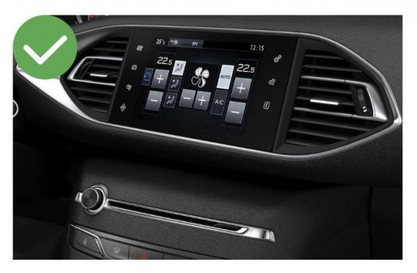 Android auto audi a3 peugeot 308 renault megane4 mercedes peugeot opel toyota camera de recul commande au volant ipod tv dvbt 3g 4g pas cher wifi poste usb sd tnt 2 din tactile can