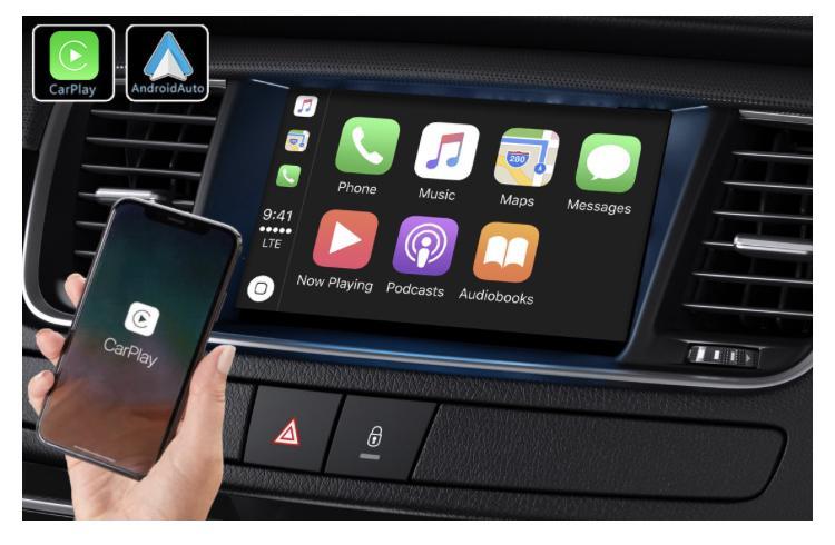 Android auto audi a3 peugeot 508 renault megane4 mercedes peugeot opel toyota camera de recul commande au volant ipod tv dvbt 3g 4g pas cher wifi poste usb sd tnt 2 din tactile can