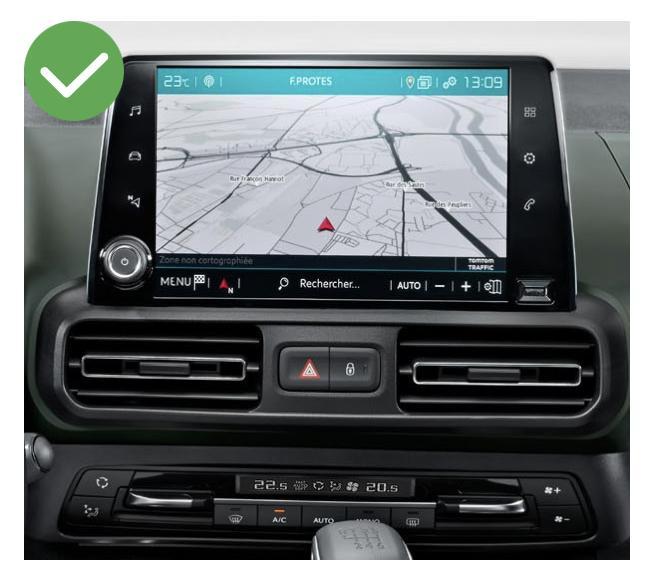 Android auto audi a3 peugeot partner renault megane4 mercedes peugeot opel toyota camera de recul commande au volant ipod tv dvbt 3g 4g pas cher wifi poste usb sd tnt 2 din tactile