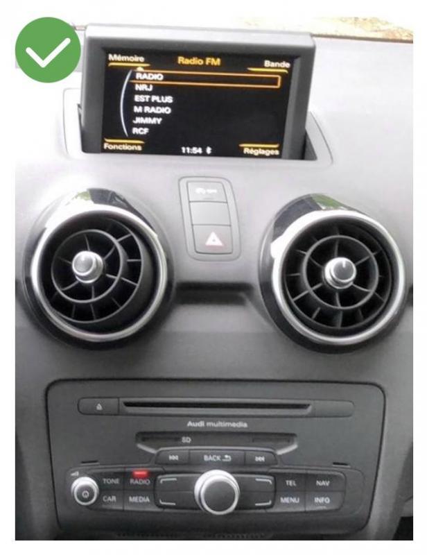Android auto audi a4 audi a1 peugeot renault megane4 mercedes audi peugeot opel toyota camera de recul commande au volant ipod tv dvbt 3g 4g pas cher wifi poste usb sd tnt 2 din ta