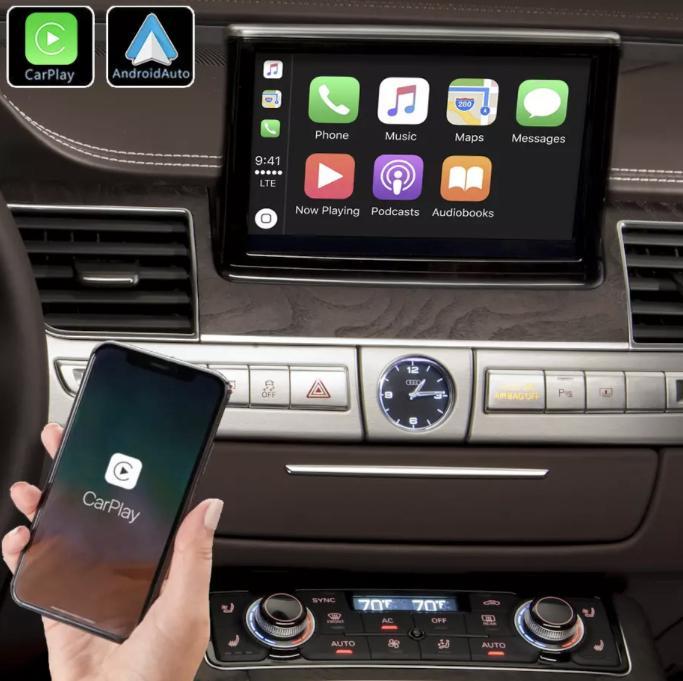 Android auto audi a8 peugeot renault megane4 mercedes audi peugeot opel toyota camera de recul commande au volant ipod tv dvbt 3g 4g pas cher wifi poste usb sd tnt 2 din tactile ca