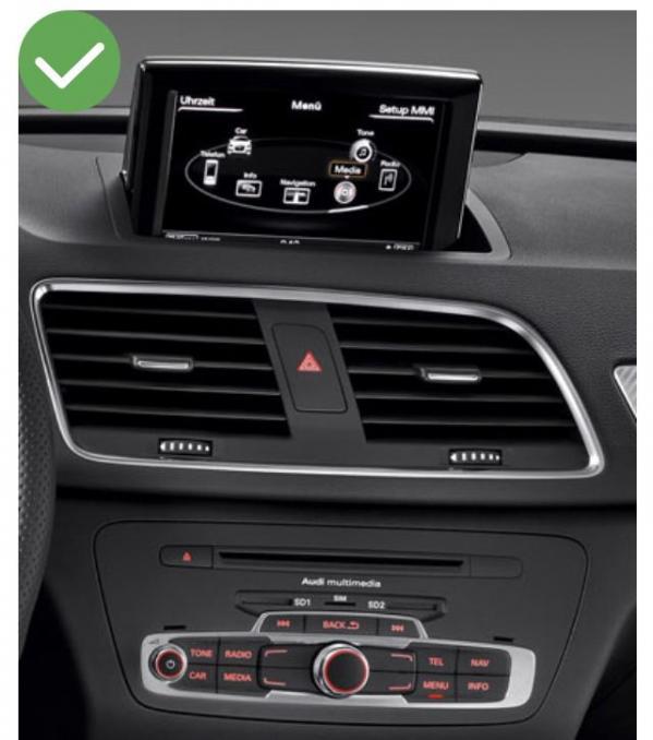 Android auto audi q3 audi a1 peugeot renault megane4 mercedes audi peugeot opel toyota camera de recul commande au volant ipod tv dvbt 3g 4g pas cher wifi poste usb sd tnt 2 din ta