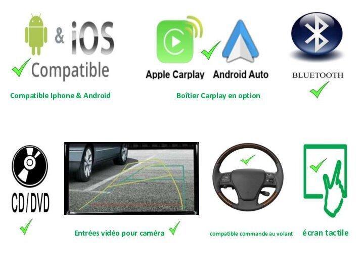 Android avec lecteur cd 2