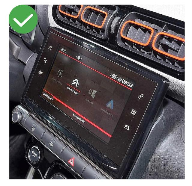 Android vw citroen ds5 c3 megane mercedes peugeot cactus berlingo 308 408 jumpy spacetourer c5 c4 ds4 aircross camera de recul commande au volant 3