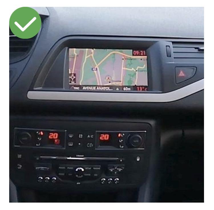 Android vw citroen ds5 megane mercedes peugeot 308 408 jumpy spacetourer c5 c4 ds4 aircross camera de recul commande au volant 1