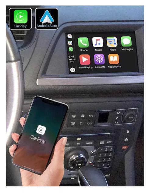 Android vw citroen ds5 megane mercedes peugeot 308 408 jumpy spacetourer c5 c4 ds4 aircross camera de recul commande au volant 2