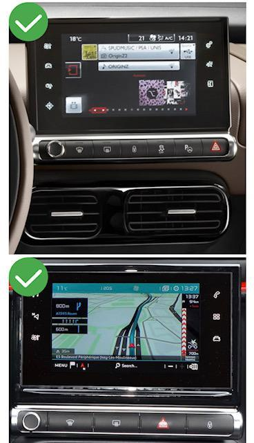 Android vw citroen ds5 megane mercedes peugeot cactus 308 408 jumpy spacetourer c5 c4 ds4 aircross camera de recul commande au volant 1