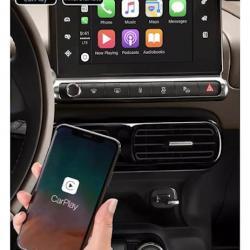 BOîTIER APPLE CARPLAY & ANDROID AUTO SANS FIL POUR CITROËN C4 CACTUS de 2014 à 2018