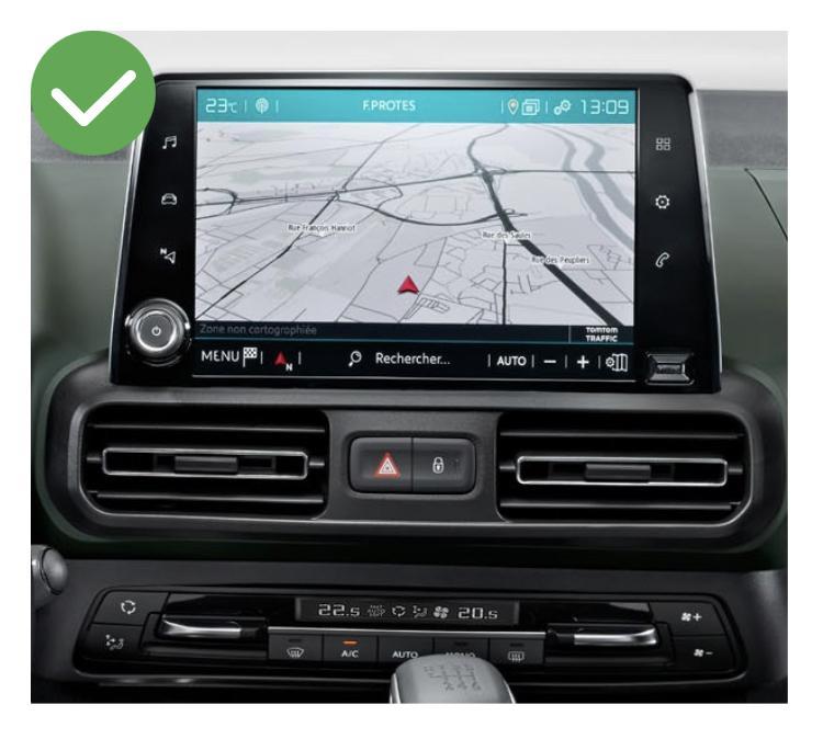 Android vw citroen ds5 megane mercedes peugeot cactus berlingo 308 408 jumpy spacetourer c5 c4 ds4 aircross camera de recul commande au volant 2
