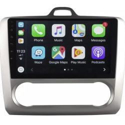 Autoradio full tactile GPS Bluetooth Android Clim Auto Ford Focus de 2004 à 2010 + caméra de recul
