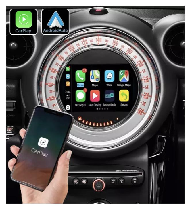 Android vw mini one countryman cooper bmw renault megane mercedes crafter vw polo arteon paceman camera de recul commande au volant golf 4g pas cher wifi poste usb sd tnt 2 din tac