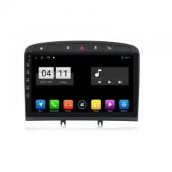 Autoradio Android full tactile GPS Bluetooth Peugeot 308, 408 et RCZ de 2007 à 2013 + caméra de recul