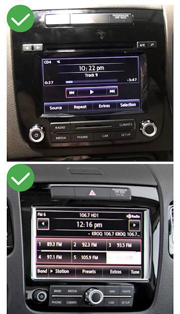 Android vw touran tiguan transporter peugeot renault megane mercedes crafter vw polo arteon touareg camera de recul commande au volant 3g 4g pas cher wifi poste usb sd tnt 2 din ta