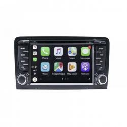 Autoradio tactile GPS Bluetooth Android  Audi A3 8P, S3, RS3, Sportback + caméra de recul