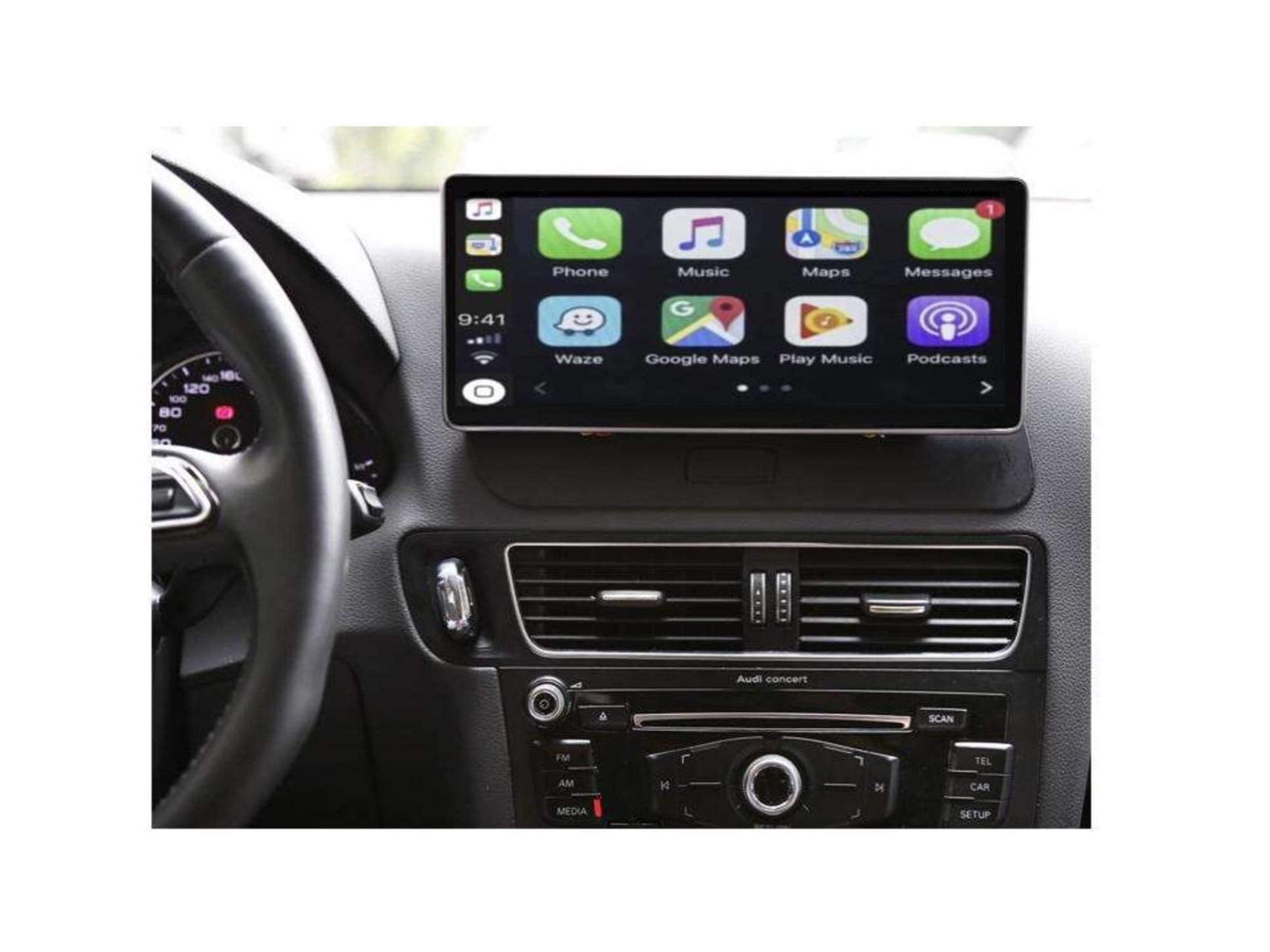Audi a4 a5 a6 q7 q5 q3 autoradio gps carplay android auto gps bluetooth 18