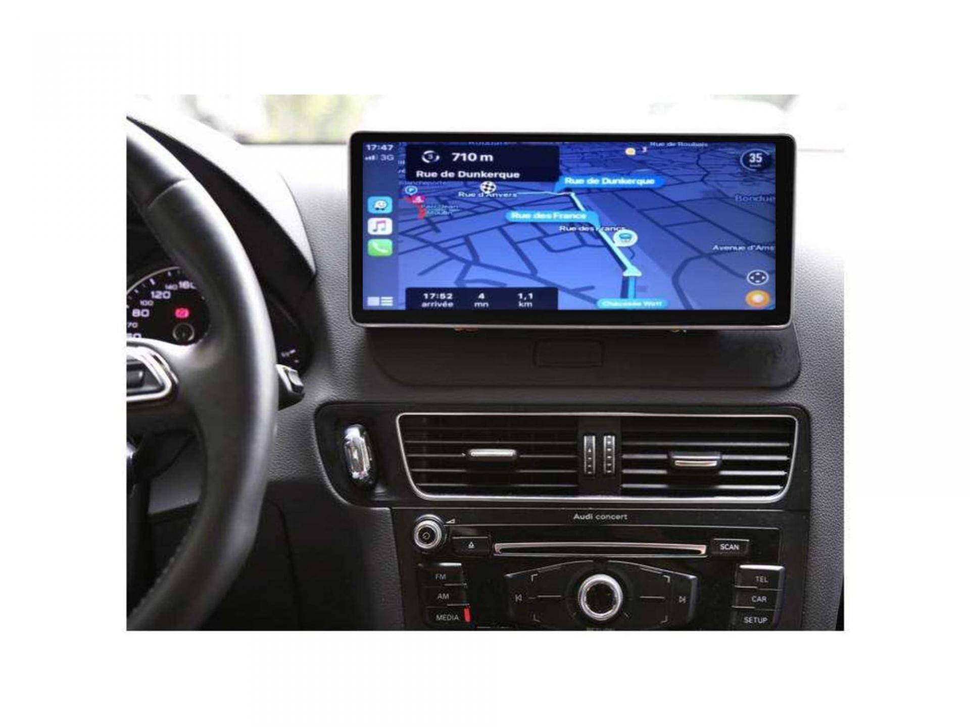 Audi a4 a5 a6 q7 q5 q3 autoradio gps carplay android auto gps bluetooth 20