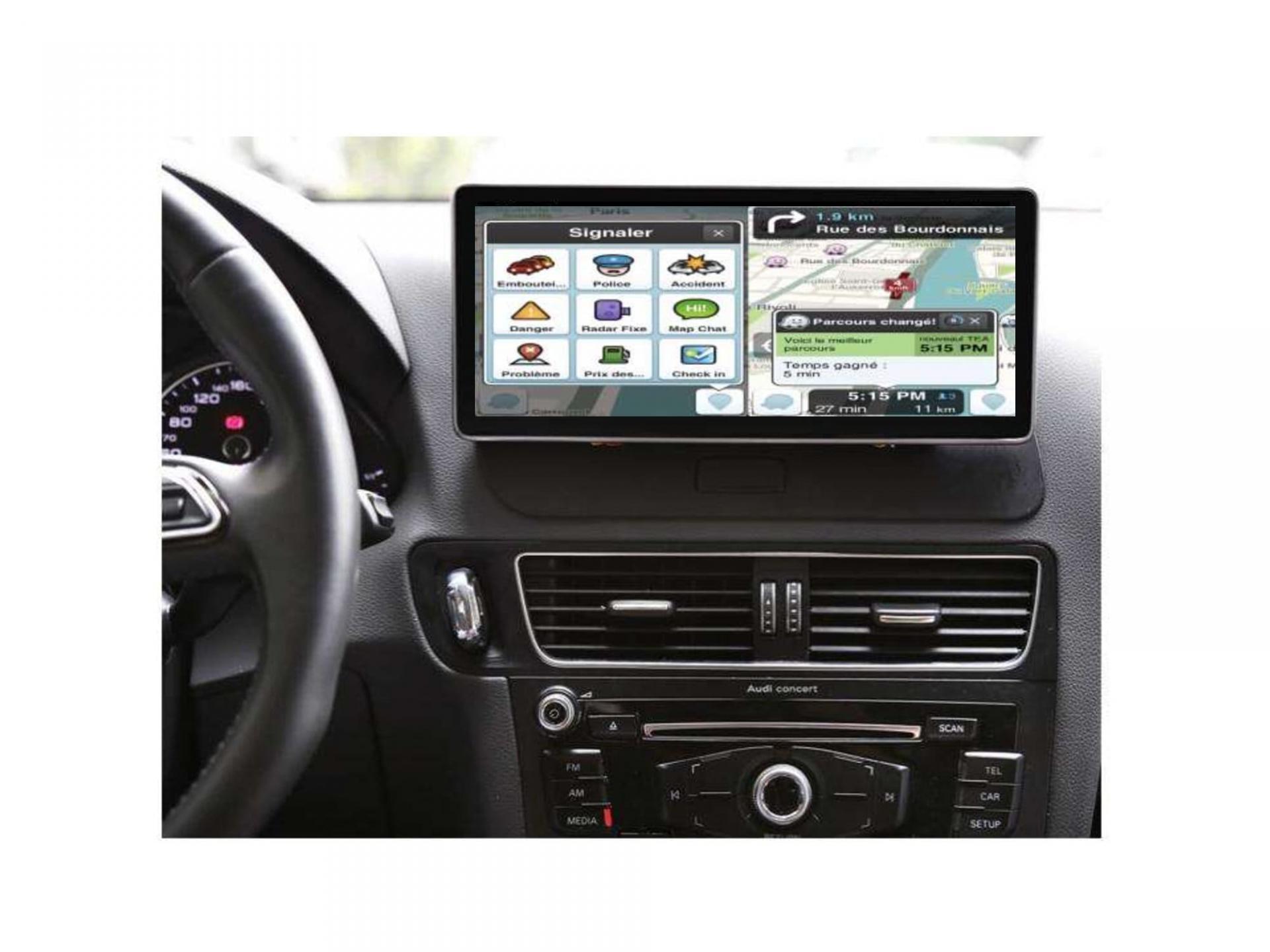Audi a4 a5 a6 q7 q5 q3 autoradio gps carplay android auto gps bluetooth 21