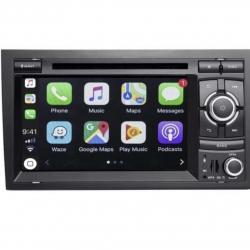 Autoradio Android tactile GPS Bluetooth Android Audi A4, S4, RS4 + caméra de recul