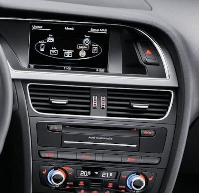 Audi a5 a4 android gps