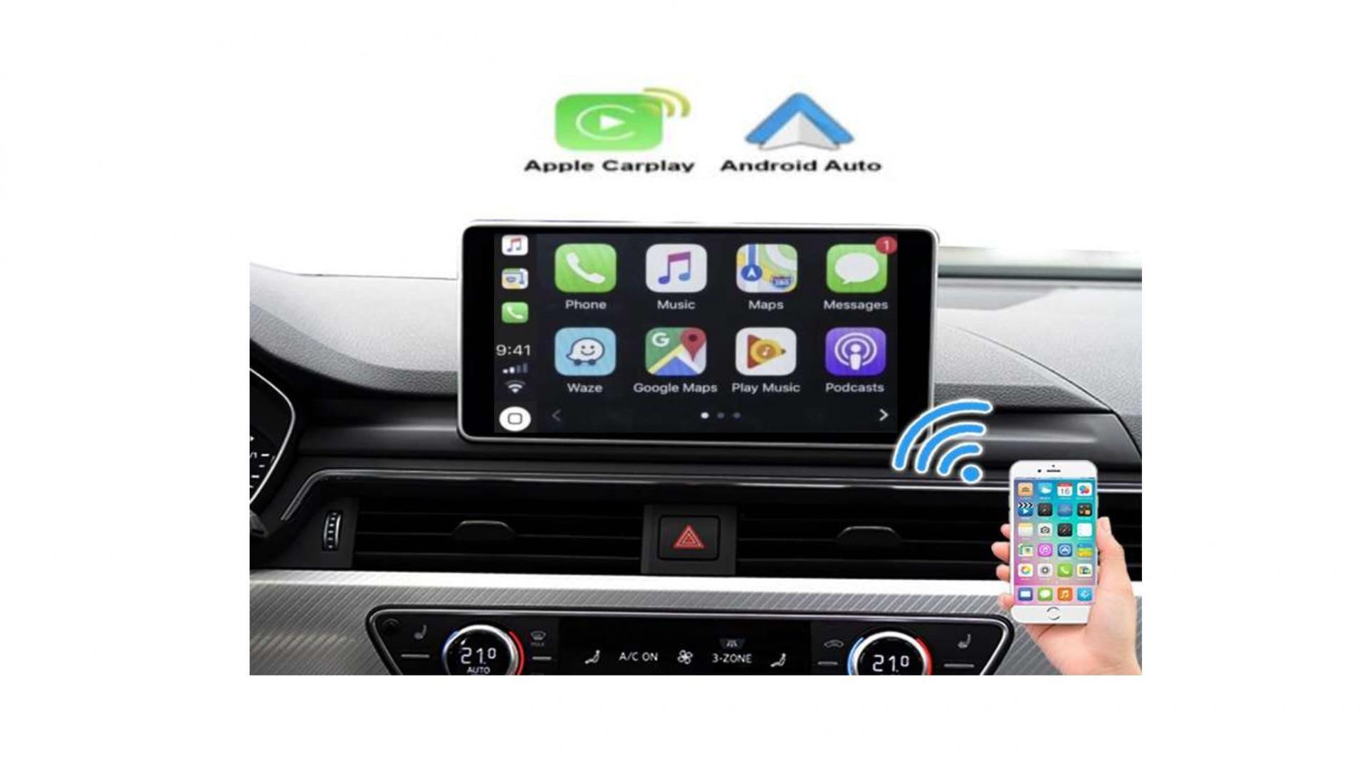 Audi q2 carplay android auto