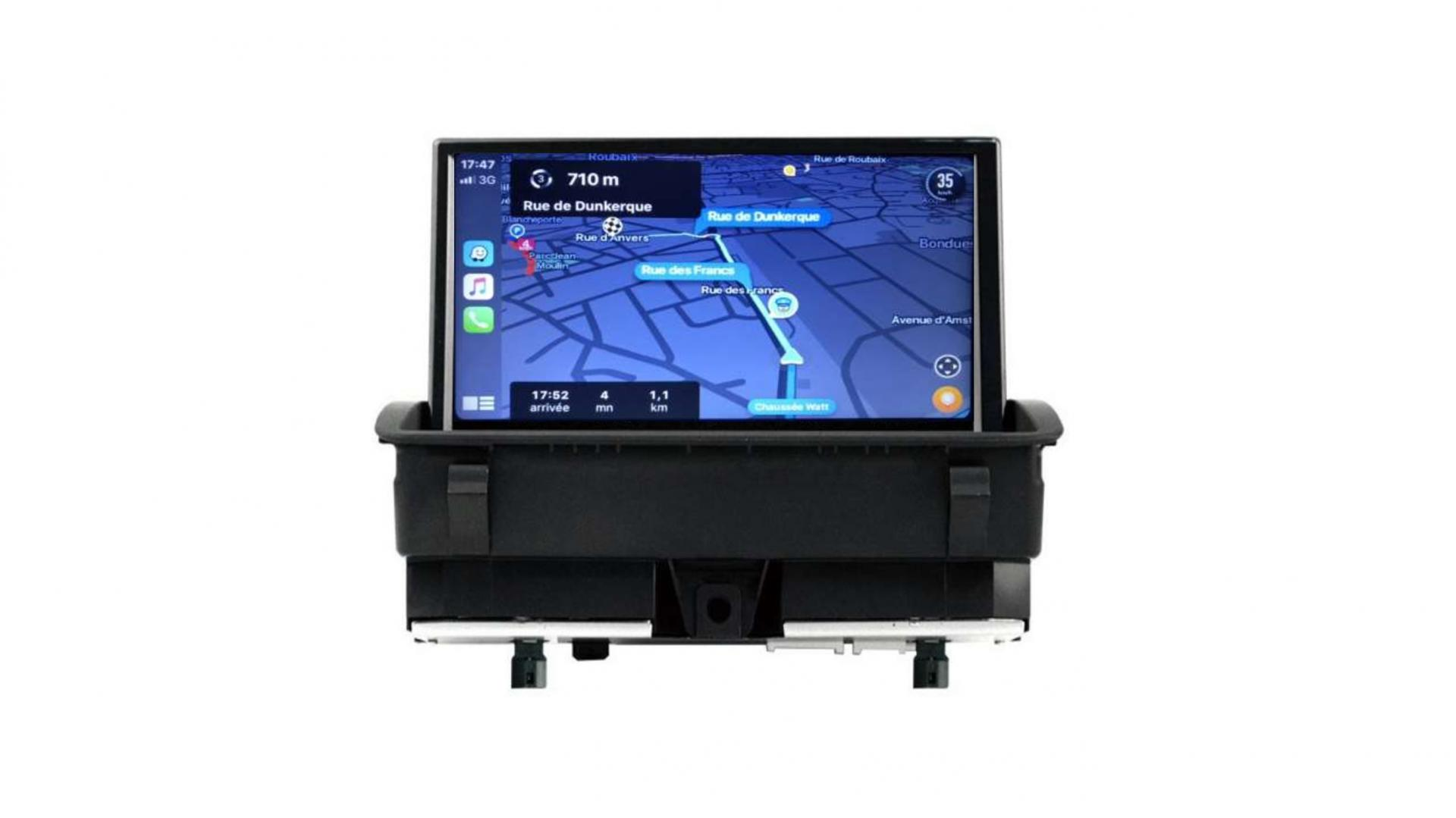 Audi q3 408 rcz autoradio gps bluetooth android auto carplay camera de recul commande au volant4