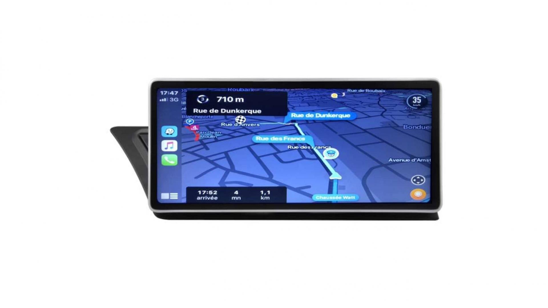 Audi q5 autoradio gps bluetooth android auto carplay camera de recul commande au volant4