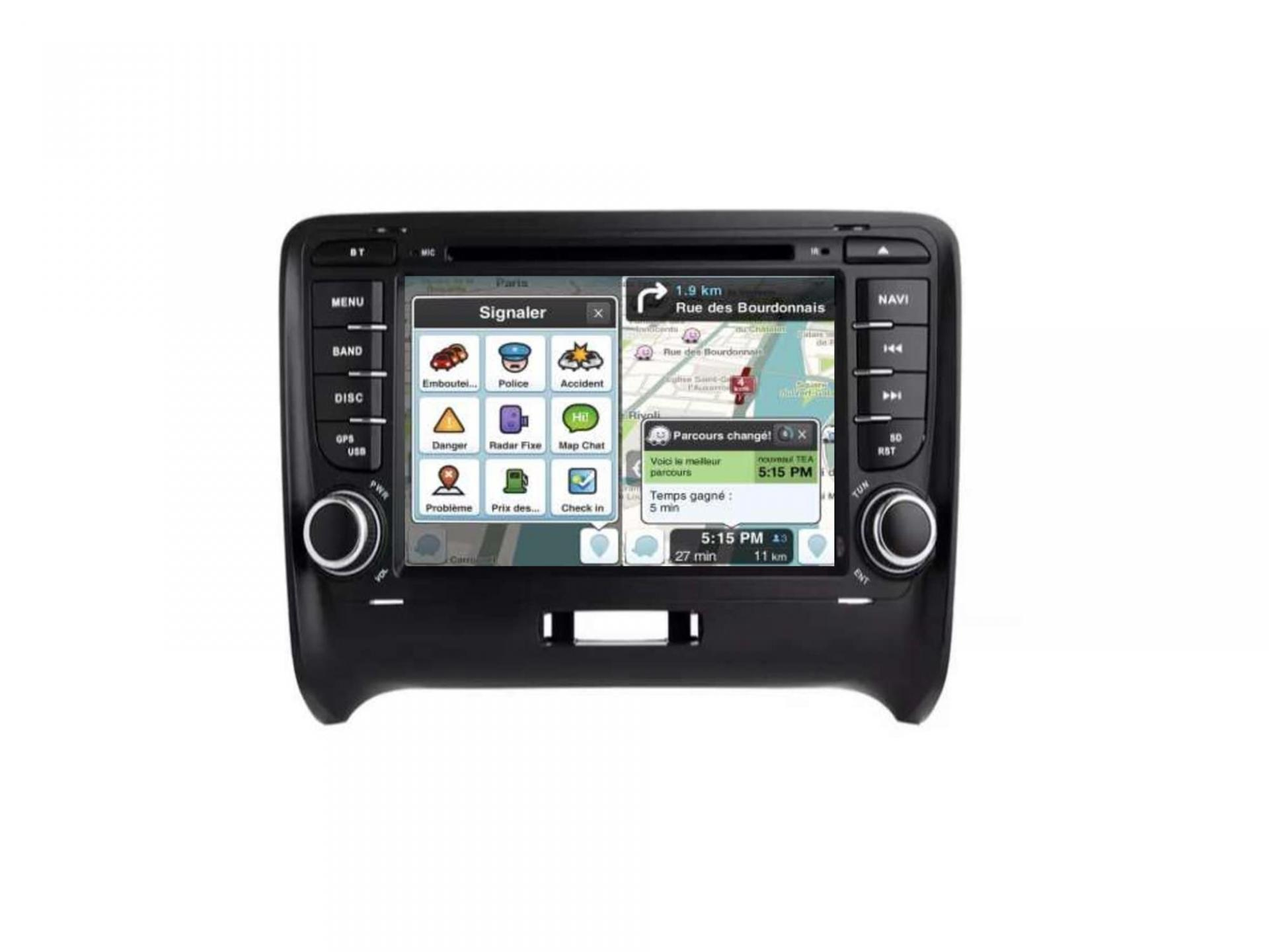 Audi tt ttrs autoradio gps carplay android auto gps bluetooth 10