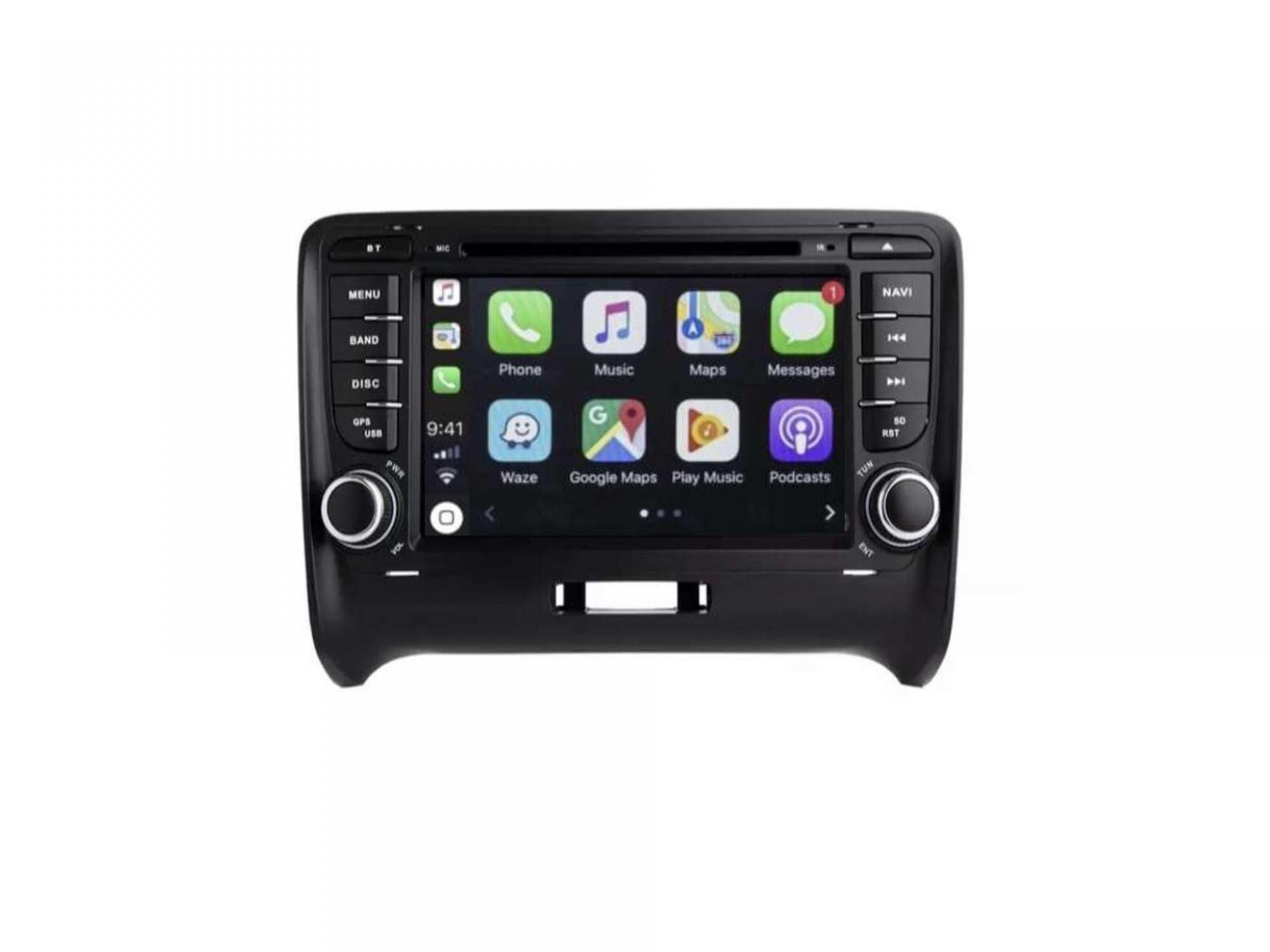 Audi tt ttrs autoradio gps carplay android auto gps bluetooth 11