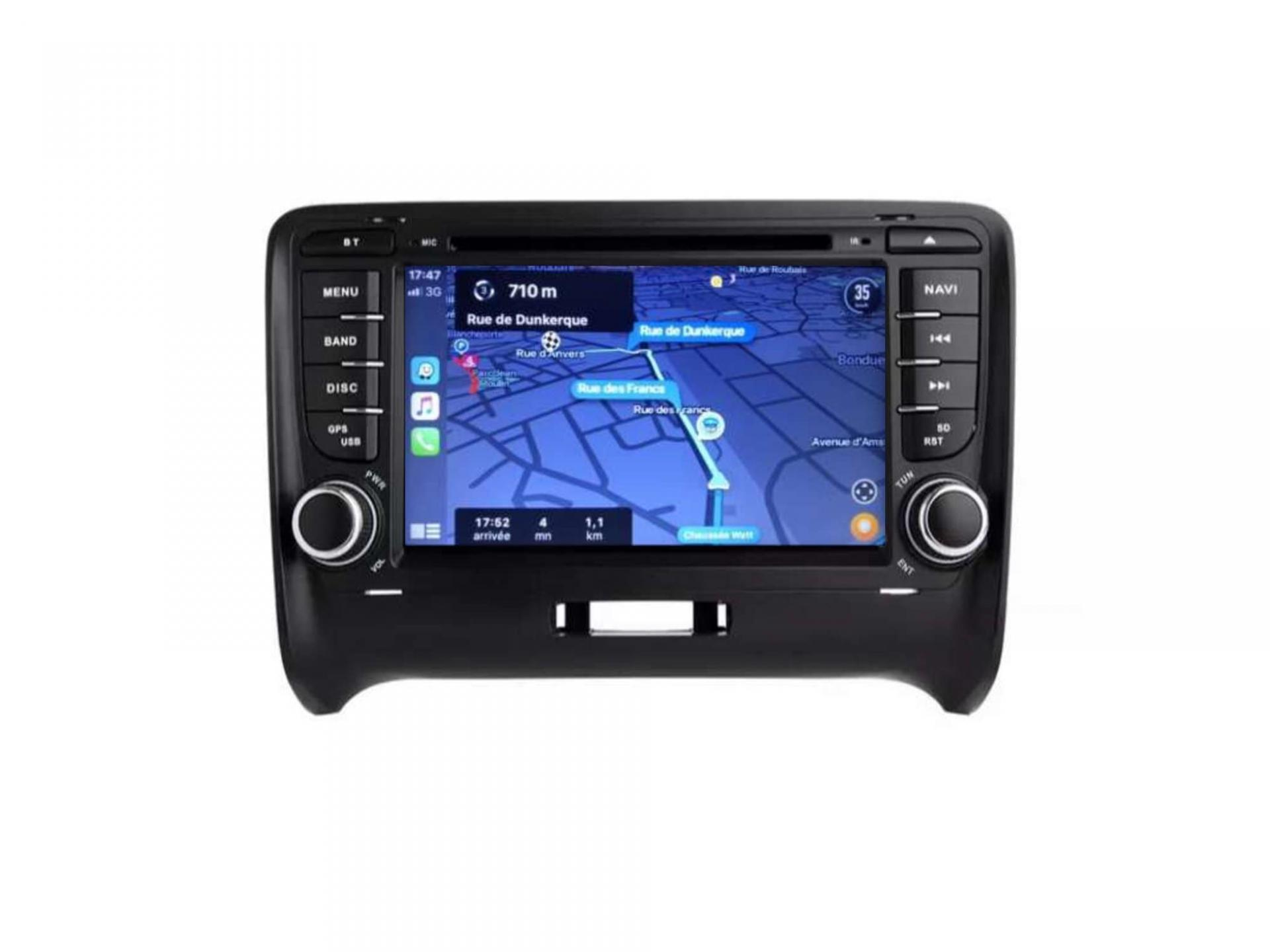 Audi tt ttrs autoradio gps carplay android auto gps bluetooth 9
