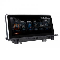 Autoradio Android full tactile GPS Bluetooth BMW X1 F48 et BMW X2 F39 à partir de 2016 + caméra de recul