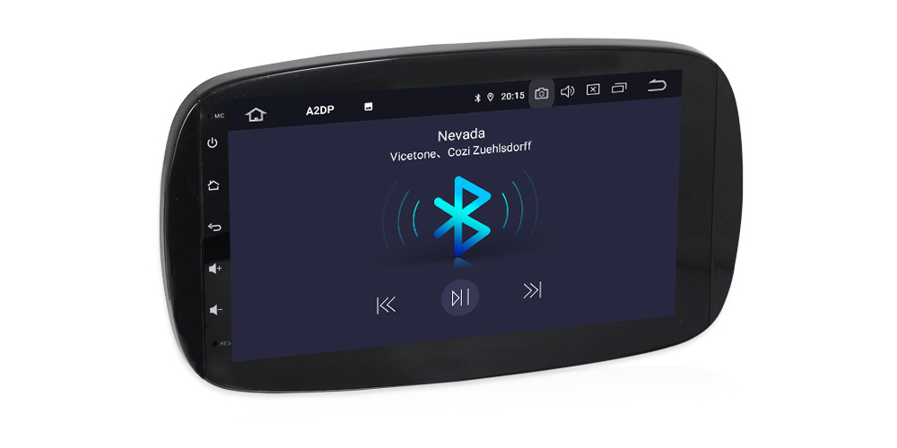 Autoradio android full tactile gps bluetooth smart 2015 2017 camera de recul 9