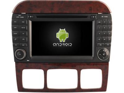 AUTORADIO ANDROÏD GPS BLUETOOTH MERCEDES CLASSE S  W220 CLASSE CL W215 + CAMERA DE RECUL