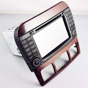 Autoradio bluetooth android mercedes classe s w220 classe cl w215 camera de recul commande au volant ipod tv dvbt 3g 4g pas cher wifi poste usb sd tnt 2 din tactile canbus mirror l