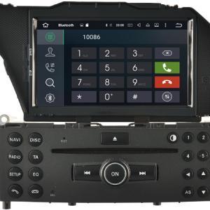 Autoradio bluetooth android mercedes glk x204 2008 10 2012 camera de recul commande au volant ipod tv dvbt 3g 4g pas cher wifi poste usb sd tnt 2 din tactile canbus mirror link iph
