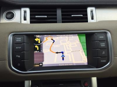 AUTORADIO ANDROÏD GPS BLUETOOTH RANGE ROVER EVOQUE VOGUE DISCOVERY FREELANDER 2011-2015 + CAMERA DE RECUL