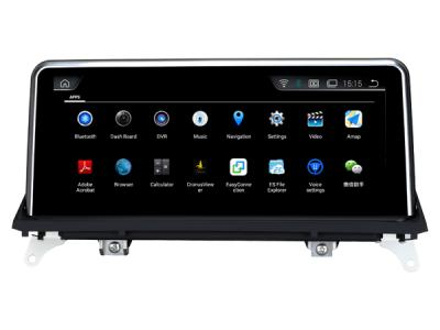 AUTORADIO GPS BLUETOOTH ANDROÏD BLUETOOTH BMW X5 E70 et X6 E71 + CAMERA DE RECUL