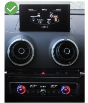 Autoradio gps bluetooth android audi a3 8v fiat ducato mercedes audi peugeot renault opel toyota camera de recul commande au volant ipod tv dvbt 3g 4g pas cher wifi poste usb 2 din